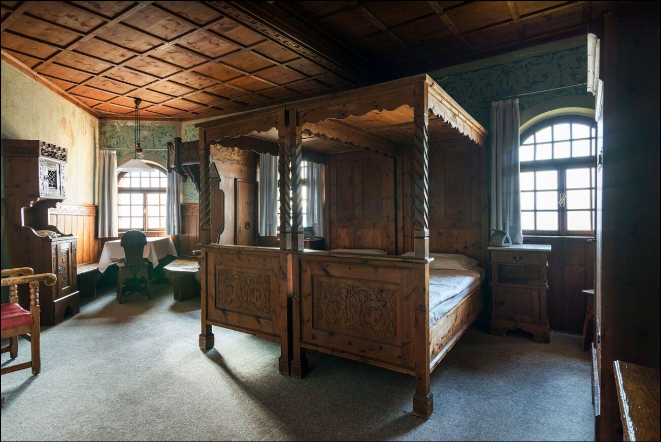 Antikes Zimmer