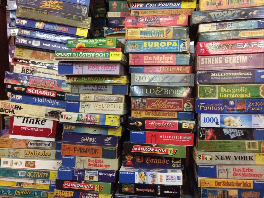 Brettspiele - 10 Dinge gegen Langeweile