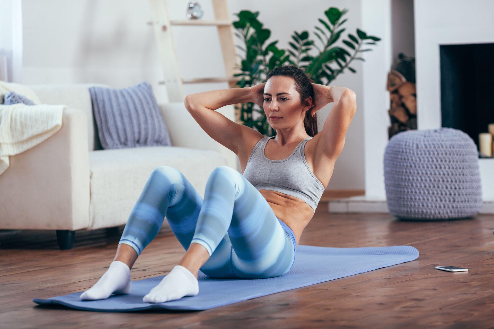 Sport im Wohnzimmer - 10 Dinge gegen Langeweile