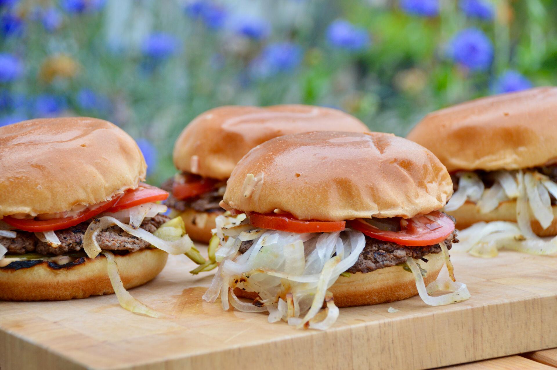 Foodblog: Smashed Onion Burger
