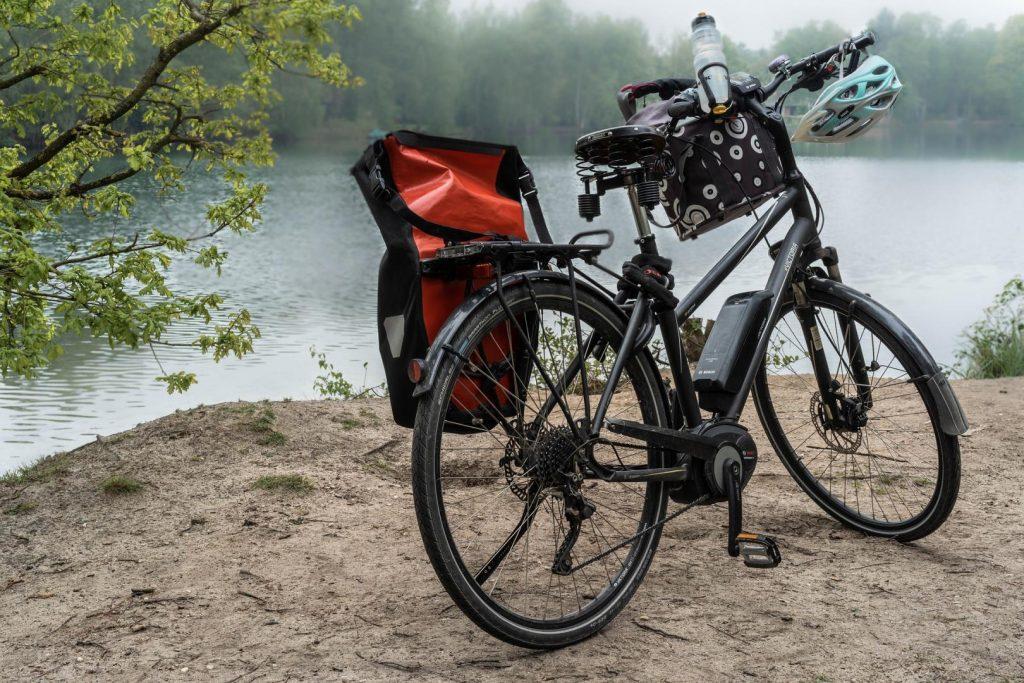 Fahrrad am See