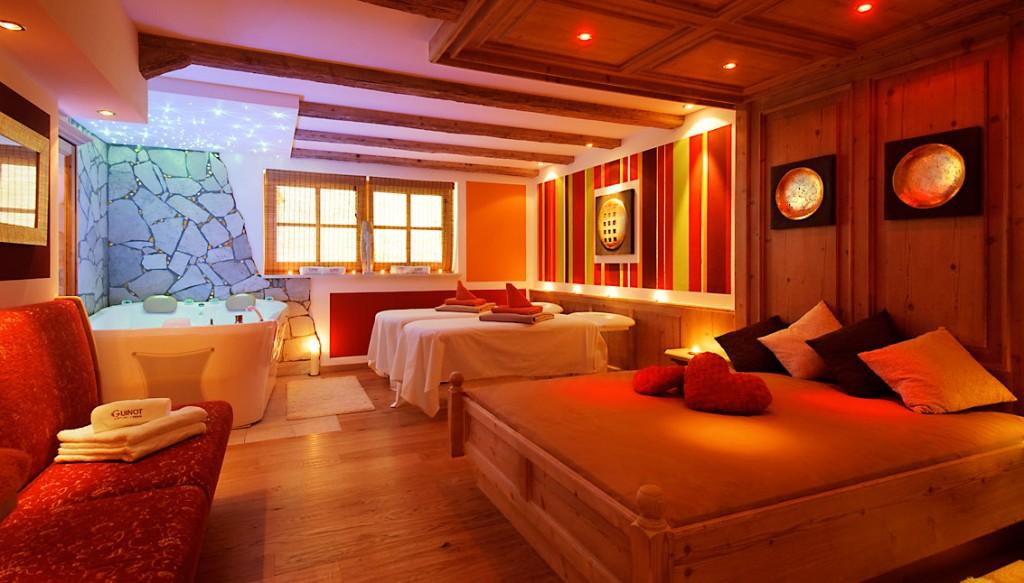 Romantik-Angebot im Landromantik Wellnesshotel Oswald in Teisnach, Bayrischer Wald, Doppelzimmerbild