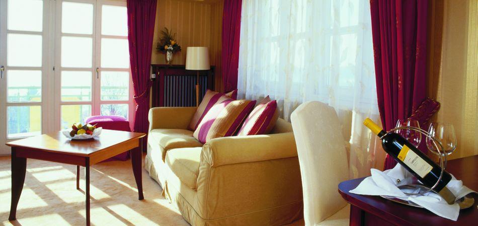 Komfortable Suite im Hotel Angerhof in St. Englmar im Bayerischen Wald