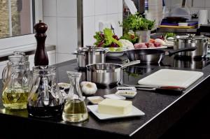 Kochen in der Profiküche, Schloss Rheinfels, St. Goar