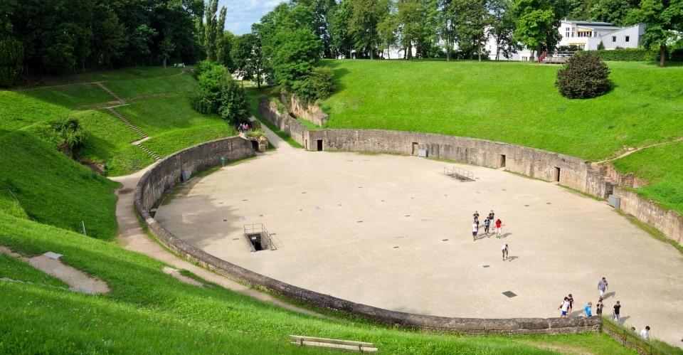 Trier Römisches Amphitheater Nordseite