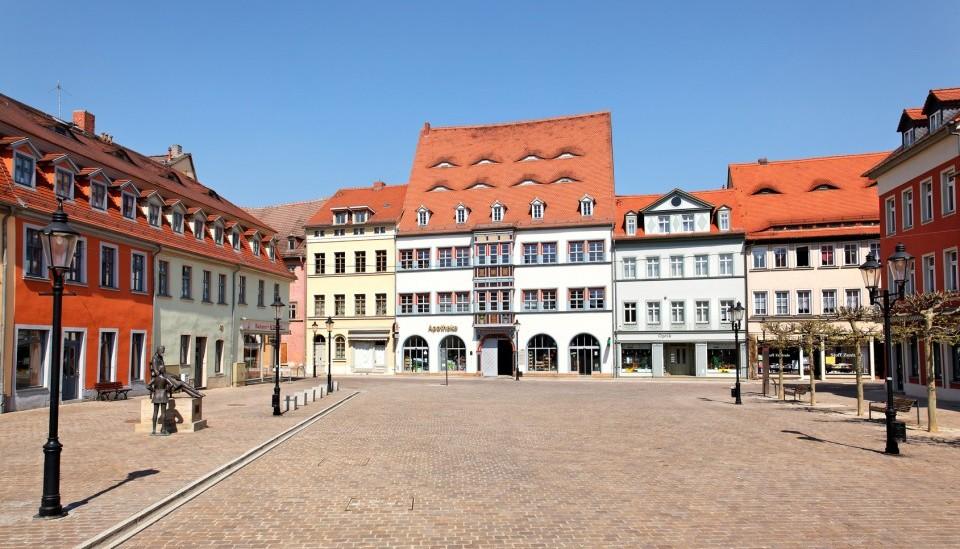 Der Naumburger Holzmarkt - Saale-Unstrut-Region