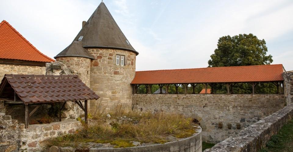Burg Herzberg in der Elbe-Elster-Region (Brandenburg)