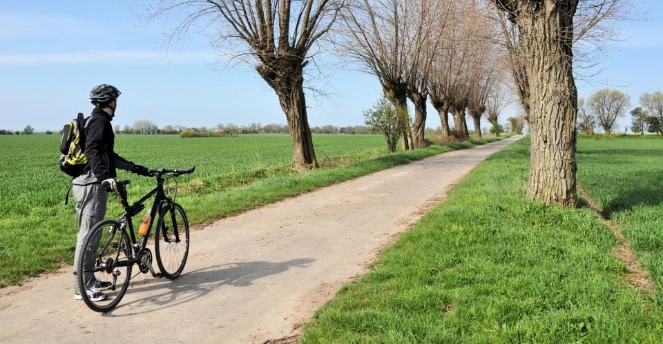 Mit dem Fahrrad über die Insel Fehmarn / Ostsee