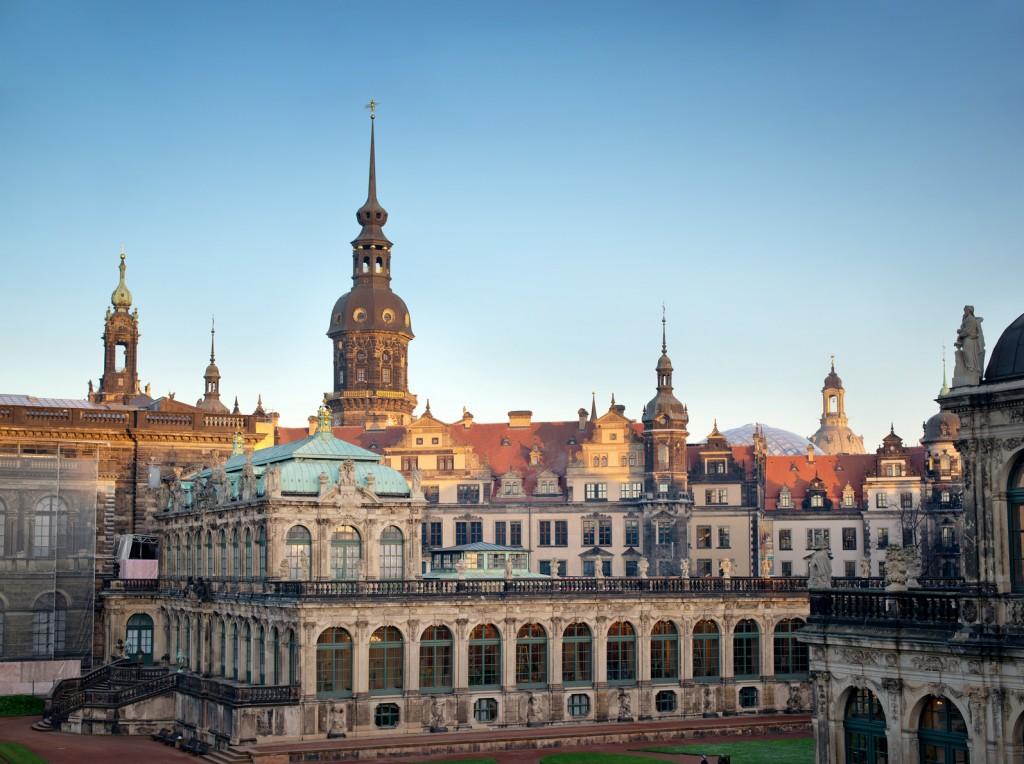 Dresdner Altstadt mit Zwinger - Gemäldegalerie der Alten Meister Dresden