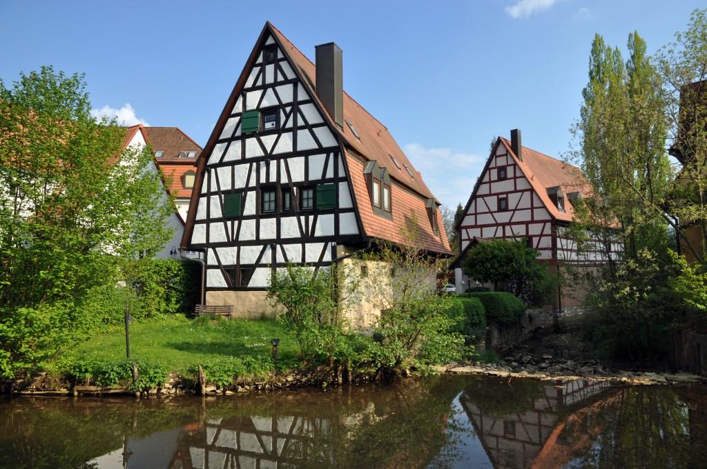 Fachwerk in Hersbruck - Das Fränkische Seenland