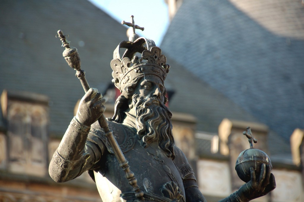 Karl der Große in Aachen - Aachener Pfalzkapelle