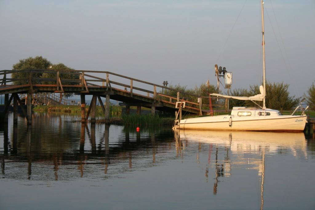Segelboot am Steinhuder Meer - Mittelweser