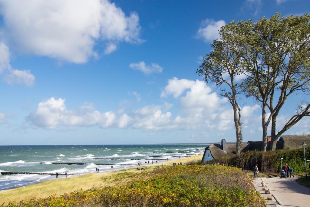 Strand bei Ahrenshoop am Darß, Darß-Zingst