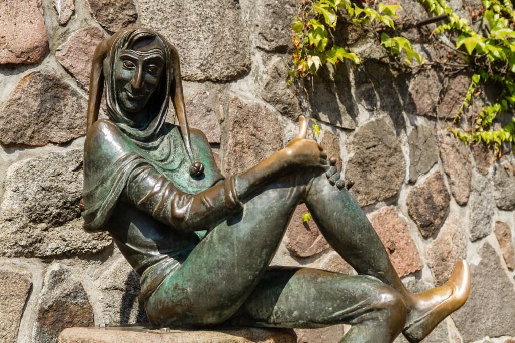 Till Eulenspiegel Denkmal in Mölln, Stormarn und Lauenburgische Seen