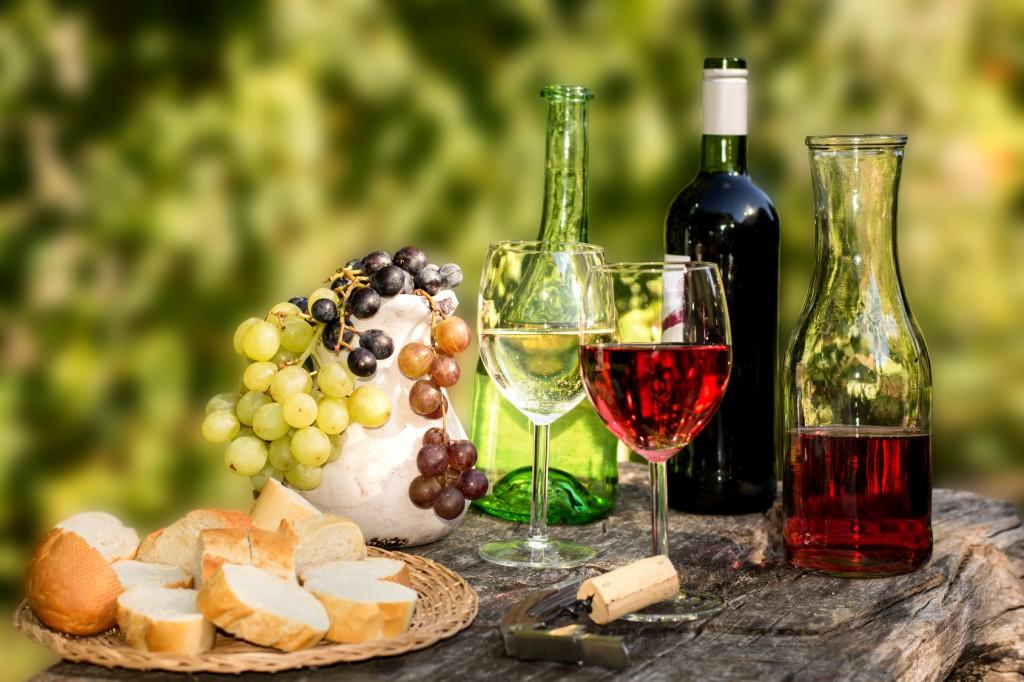 Weinprobe, Weinbaugebiet Pfalz