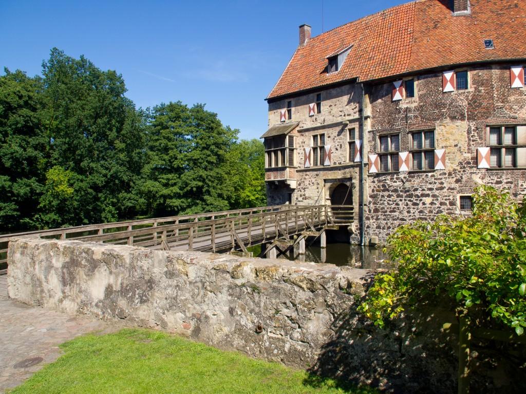 Brücke zur Burg Vischering, Münsterland