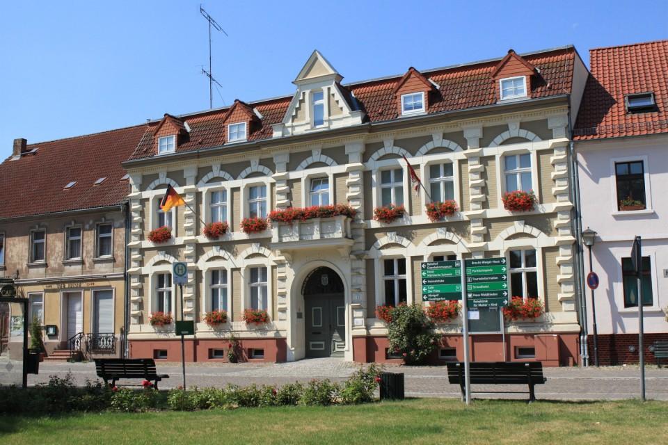 Rathaus in Buckow (Märkische Schweiz)