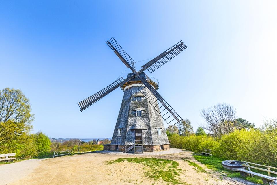 Windmühle in Benz auf Usedom