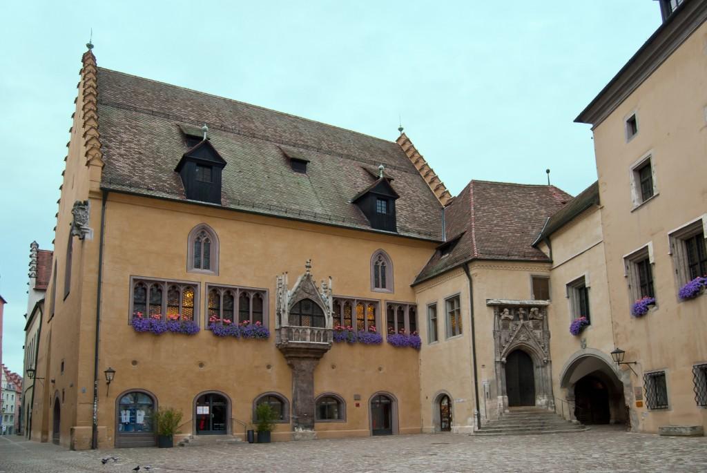 Das alte Rathaus zu Regensburg