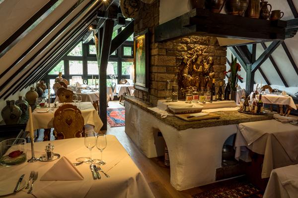 Restaurant im Romantik Hotel Neumühle in Wartmannsroth