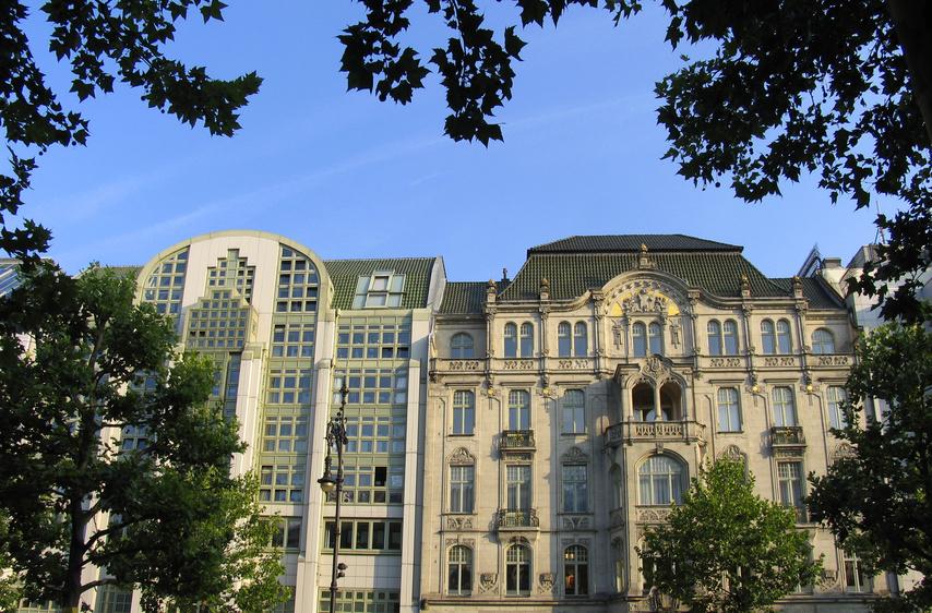 Architektur am Kurfürstendamm