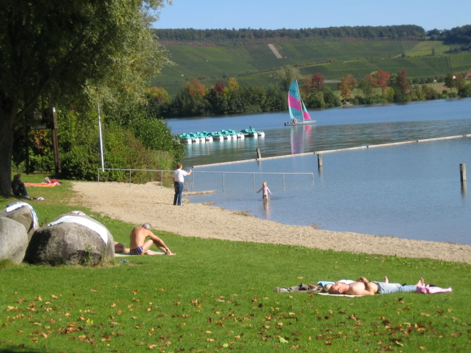 Strand am Breitenauer See