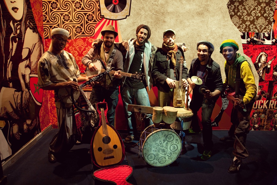 Bob Maghrib Gruppe Africa Würzburg Festival