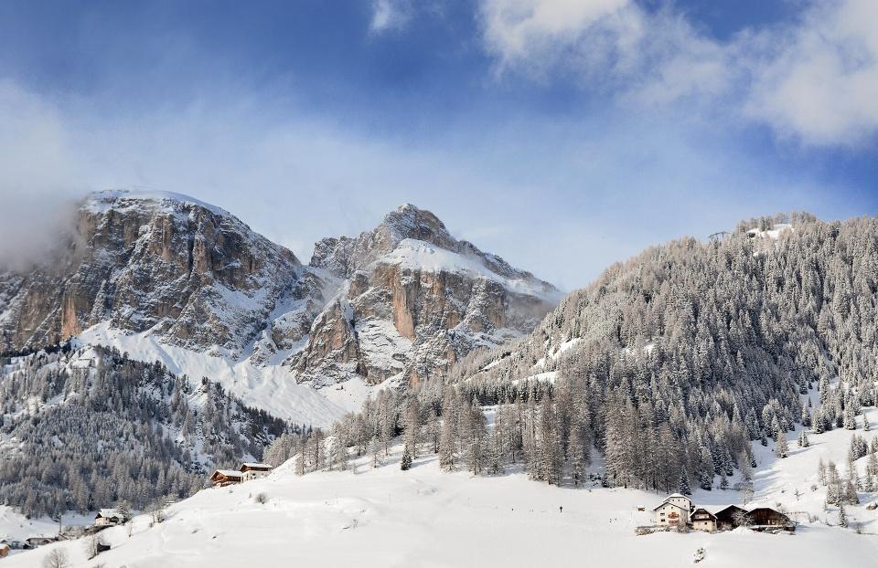 Corvara im Winter, Alta Badia