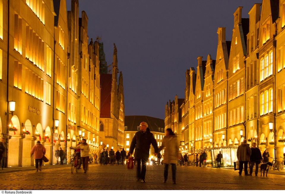 Weihnachtsmarkt Münster: Prinzipalmarkt im Advent