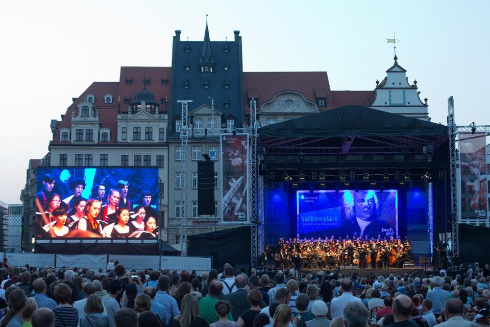 Bachfest Leipzig Open Air Marktplatz Leipzig