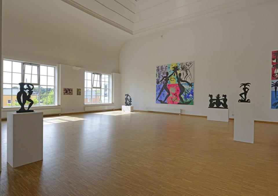 Ausstellung in der Galerie Noah im Glaspalast Augsburg