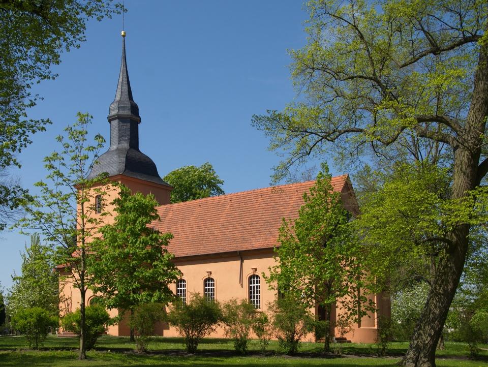 Kirche von Ribbeck im Havelland
