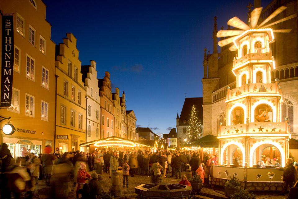Weihnachtsmarkt Osnabrück.Lichterglanz Und Weihnachtszauber Auf Dem Osnabrücker Weihnachtsmarkt