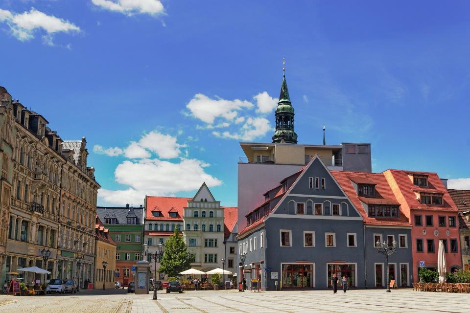 Zwickau, Hauptmarkt, Westsachsen