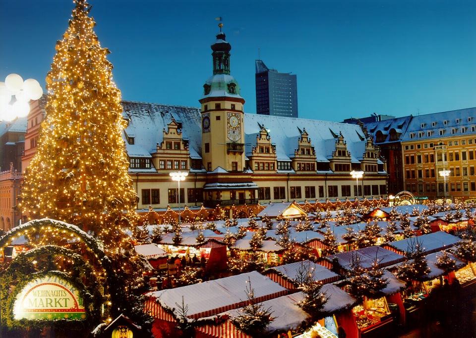 Budenzauber auf dem Leipziger Weihnachtsmarkt
