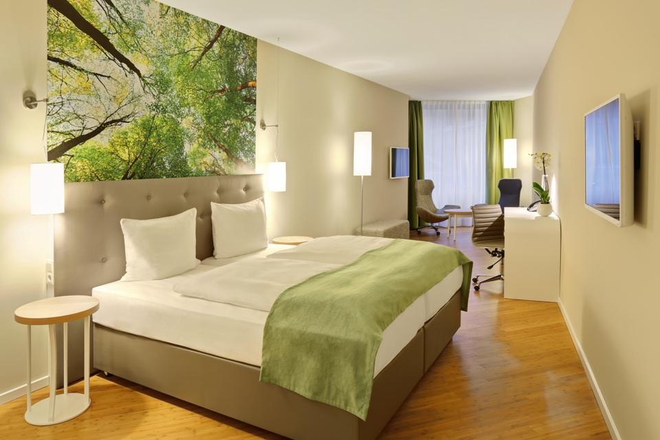 Element Holz Zimmerbeispiel @ Elements Pure Feng Shui Concept Hotel Bremen