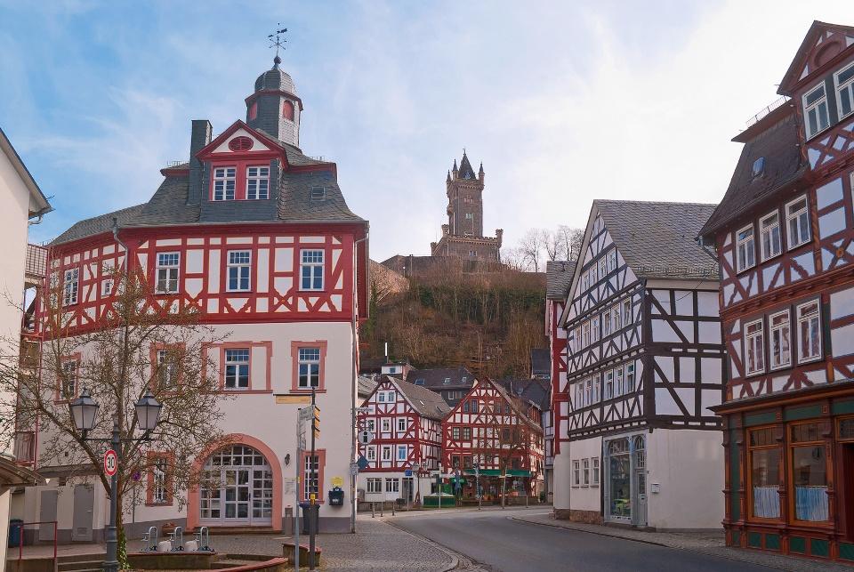 Das Alte Rathaus von Dillenburg, Region Lahn-Dill