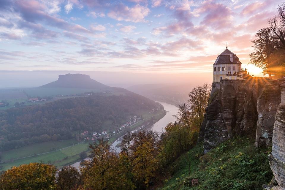 Teil der Festung Königstein, Sächsische Schweiz