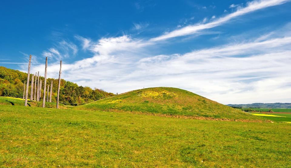 Keltisches Hügelgrab - Wetterau und Vogelsberg