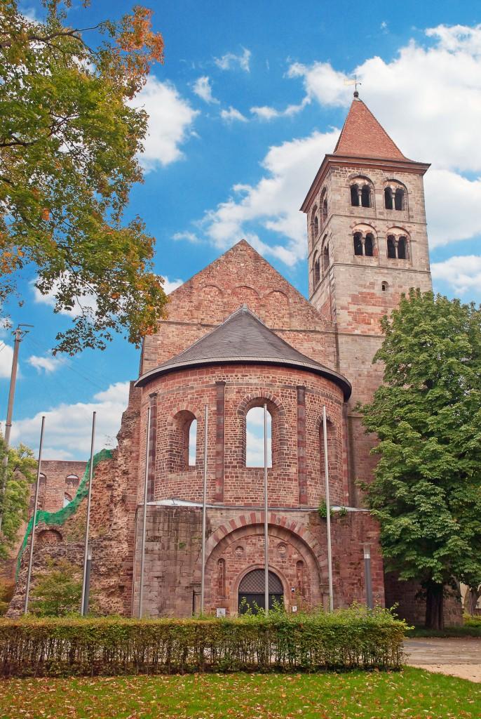 Kirchenruine in Bad Hersfeld, Waldhessen