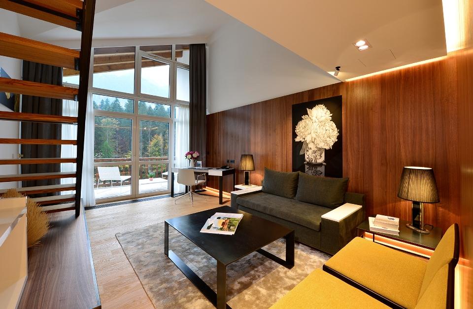 Zimmerbeispiel, Hotel Badersee, Grainau