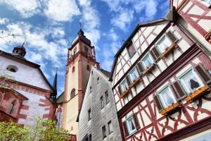 Historischer Stadtkern in Tauberbischofsheim