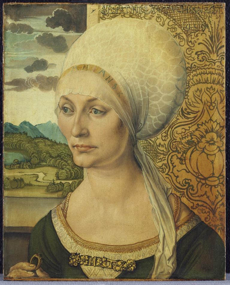 Bildnis der Elsbeth Tucher - Gemäldegalerie der Alten Meister Kassel