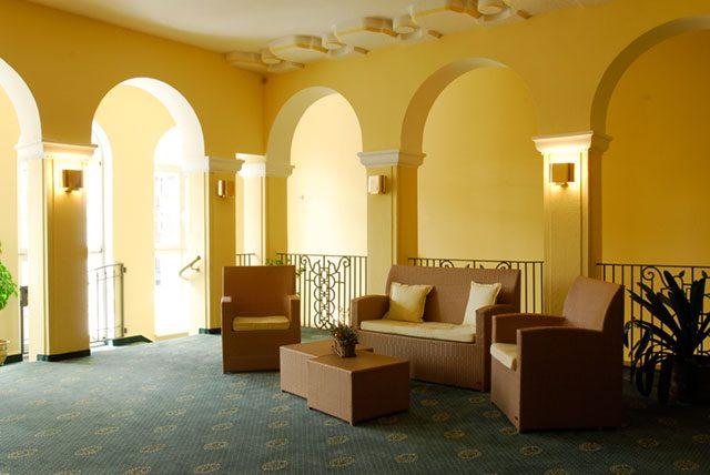 Lobby im Kurhotel Fürstenhof Blankenburg
