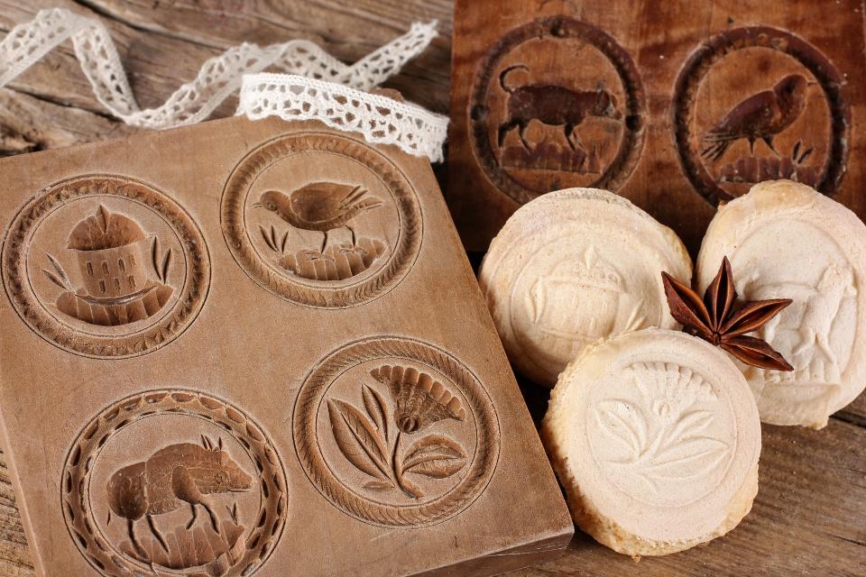 Springerle mit Holzform, Allgäu