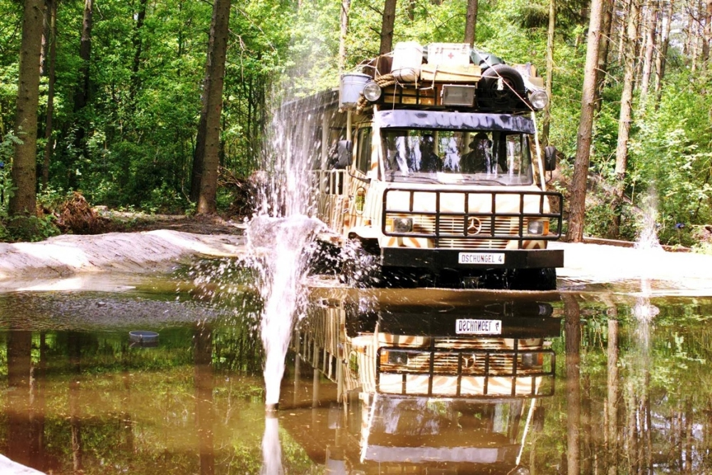 Dschungel Safari Jeep