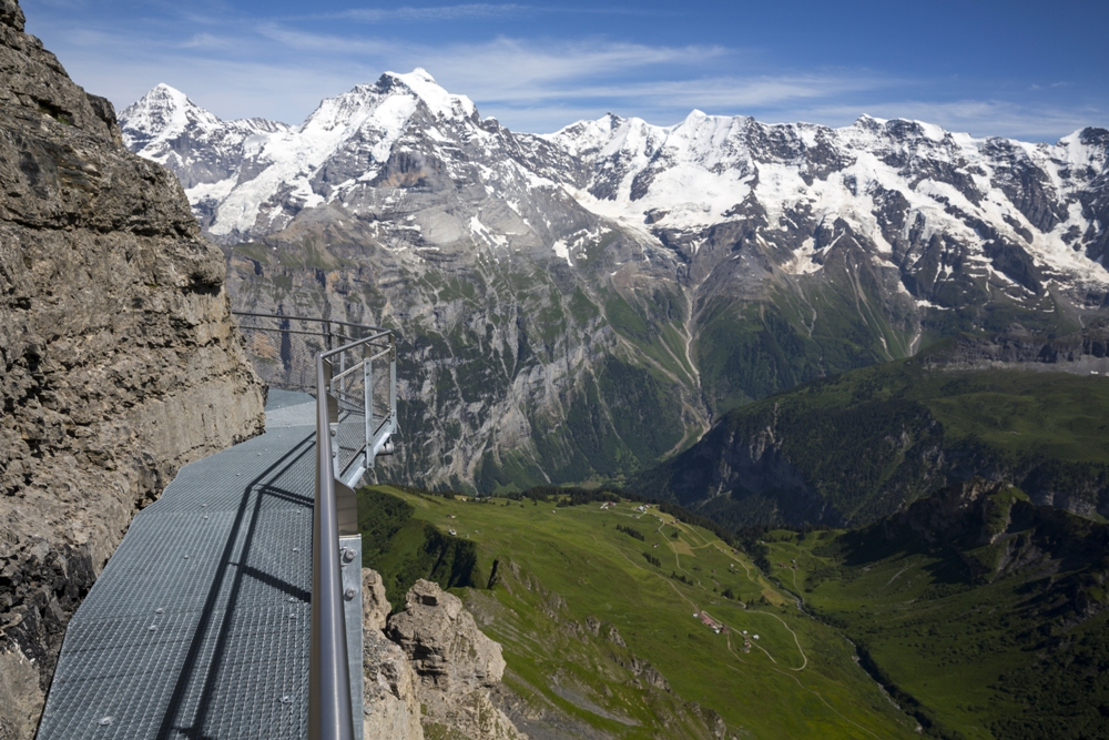 Thrill Walk am Schilthorn