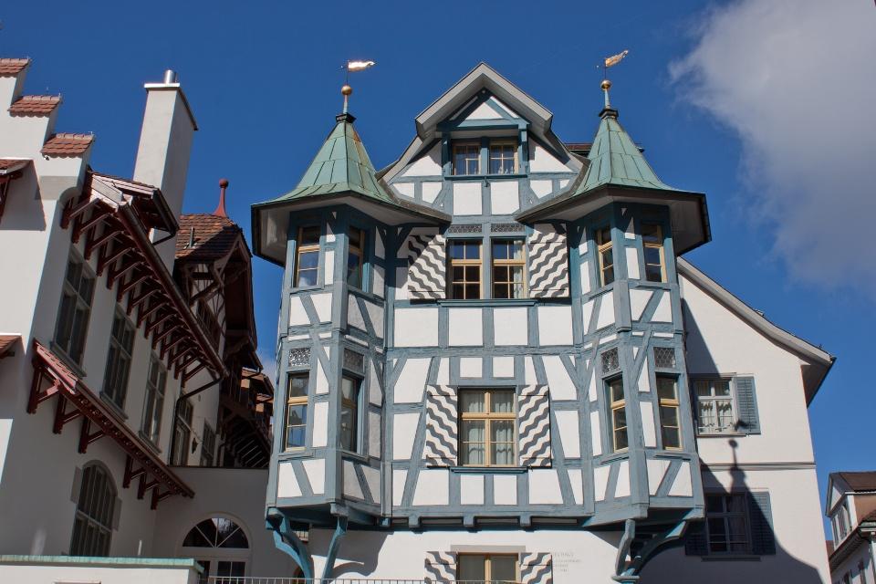 Turmhaus im Stiftsbezirk St. Gallen
