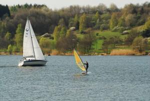 Wassersport auf dem Bostalsee