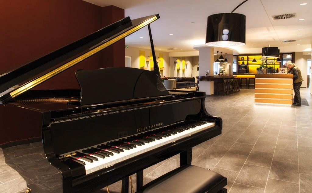 Lobby im Weinhotel Kaisergarten